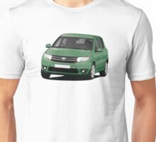 Dacia Sandero - illustration - green Unisex T-Shirt