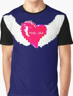 Pixel Love Graphic T-Shirt