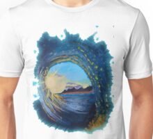 In the eye of the wave Unisex T-Shirt