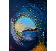 In the eye of the wave Photographic Print