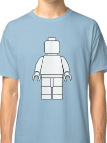 Awesome LEGO minifigure Outline Classic T-Shirt