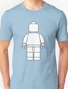 Awesome LEGO minifigure Outline Unisex T-Shirt