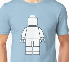 Awesome LEGO minifigure Outline Unisex T-Shirt