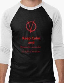 Remember Remember Men's Baseball ¾ T-Shirt