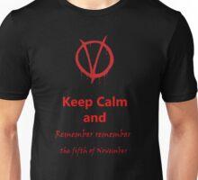 Remember Remember Unisex T-Shirt