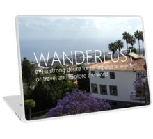 wanderlust - impulser to travel Laptop Skin
