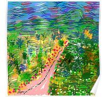 River Valley, by Roger Pickar, Goofy America Poster