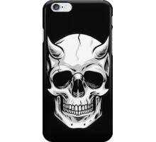 Demon Head Skull  iPhone Case/Skin