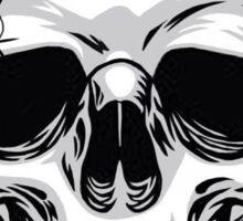 Demon Head Skull  Sticker