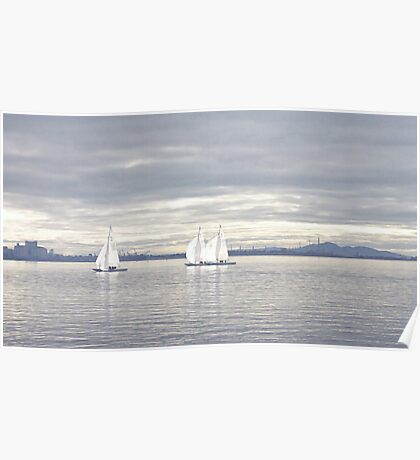 A Winters Sail Poster