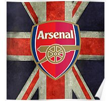 arsenal fc the gunners Poster