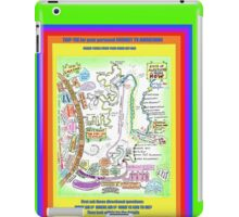 MAP to enlightenment for the western mind iPad Case/Skin