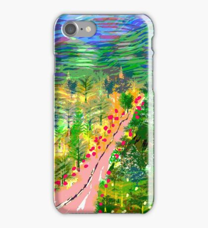River Valley, by Roger Pickar, Goofy America iPhone Case/Skin