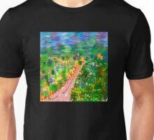 River Valley, by Roger Pickar, Goofy America Unisex T-Shirt