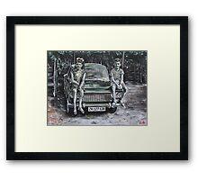 Children of the Vineyard Framed Print