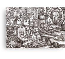 Dreams encroaching on reality Canvas Print