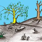 Golden tree succession by David Fraser