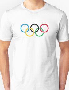 Olympic Rings Logo  Unisex T-Shirt