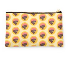 Pink Floating Whale (Yellow) Studio Pouch