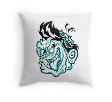 Hello I am Spongbob Zombiepant Throw Pillow