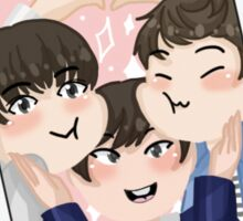 Seventeen - Team Leaders Polaroid Sticker