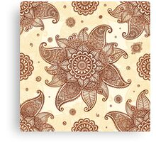 Indian flower Canvas Print