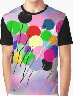 Balloons, by Roger Pickar, Goofy America Graphic T-Shirt