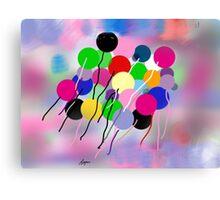 Balloons, by Roger Pickar, Goofy America Canvas Print