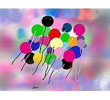 Balloons, by Roger Pickar, Goofy America Photographic Print