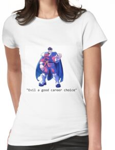 I want an m bison shirt Womens Fitted T-Shirt