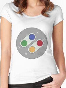 Controller - Super Nintendo Women's Fitted Scoop T-Shirt