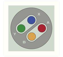 Controller - Super Nintendo Art Print