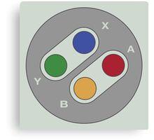 Controller - Super Nintendo Canvas Print