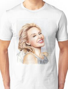 Kylie Minogue - the tiny princess of Pop Unisex T-Shirt