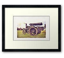 Traction Engine Framed Print