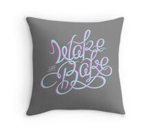 Wake n Bake Throw Pillow