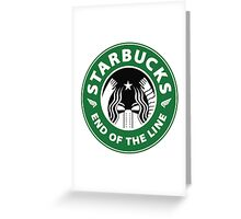 starbucky Greeting Card