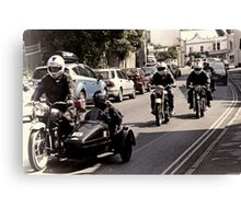 Vintage Motorcycles  Rally.... Canvas Print