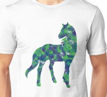 Cold dotted horse Unisex T-Shirt