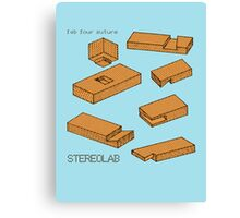 Stereolab - Fab Four Suture Canvas Print