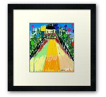 Castle Lolly by Roger Pickar, Goofy America Framed Print