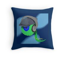 Jack Septic Eye Sam! Throw Pillow