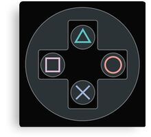 Controller - PlayStation Canvas Print