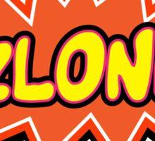 ZLONK Sticker