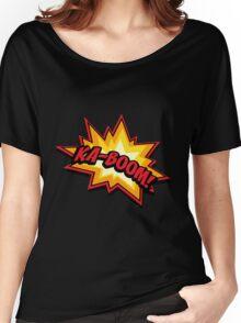 KA-BOOM Women's Relaxed Fit T-Shirt