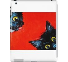Sneaky Kittens iPad Case/Skin