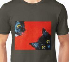 Sneaky Kittens Unisex T-Shirt