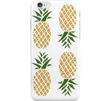 Pineapples (six) iPhone Case/Skin