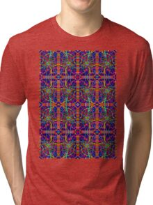 Psychedelic Abstract colourful work 272 Tri-blend T-Shirt