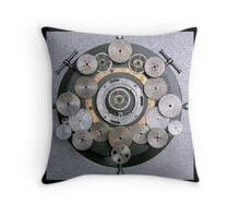 Gear Abstract Throw Pillow